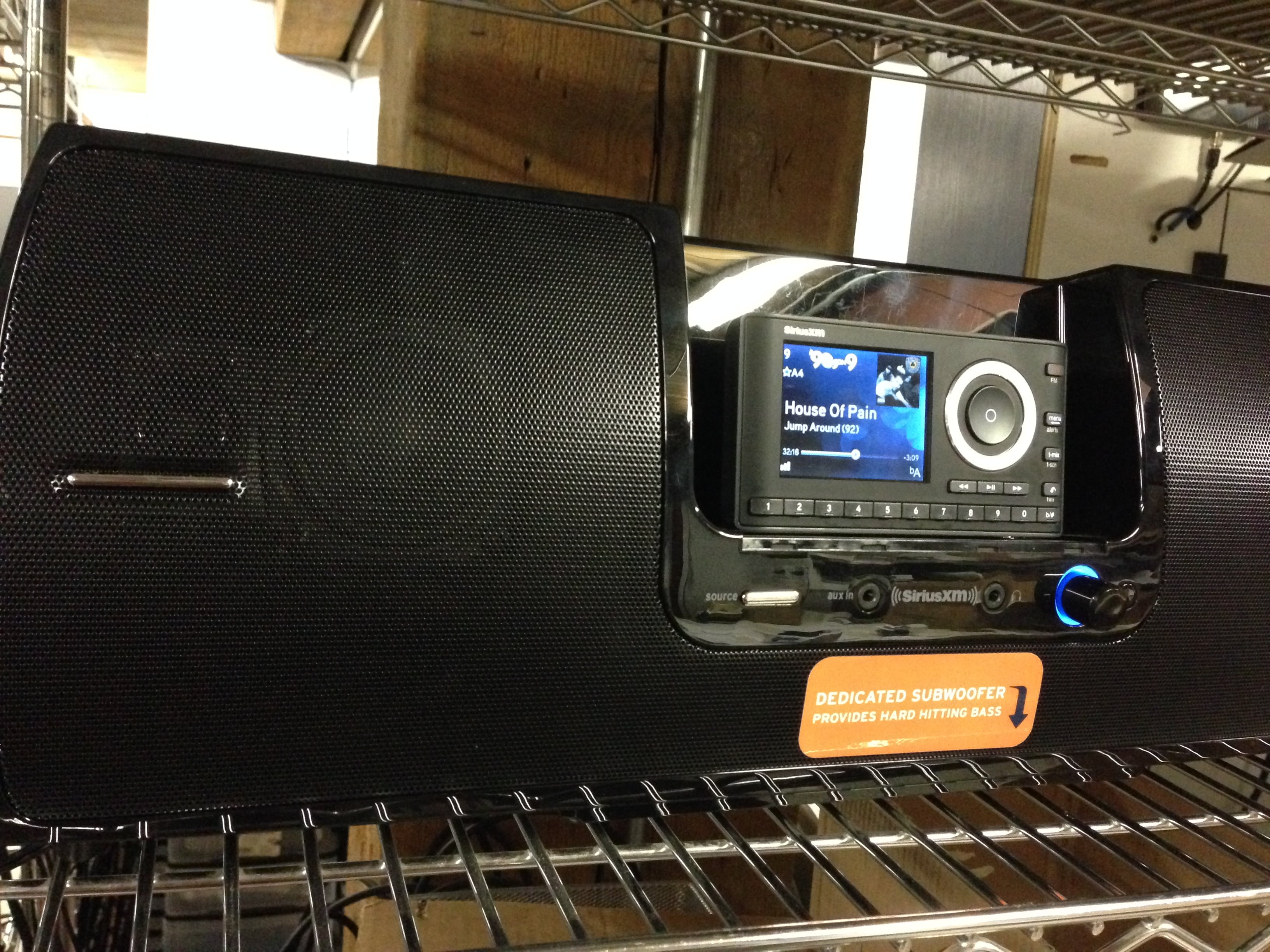 Introducing Siriusxm S Newest Boombox The Sxsd2 Tss