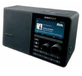 SiriusXM Sound Station TTR2 Wi-Fi Radio | Desktop Radio with Power