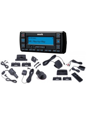 Sirius Stratus 7 w/Car Kit & SXDH3 Home Kit Bundle