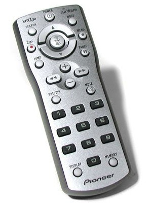 Pioneer Airware XM2GO Replacement Remote Control