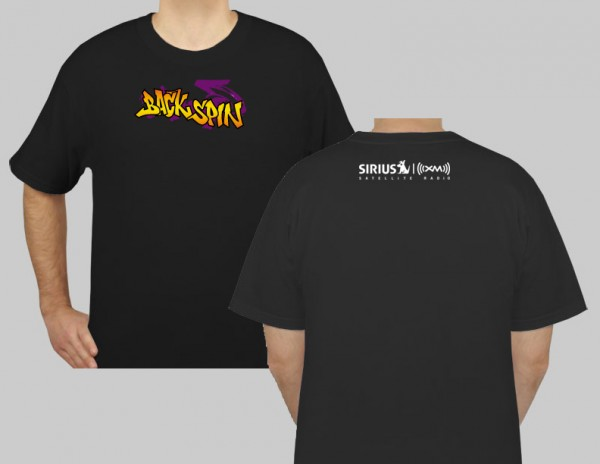 SiriusXM Backspin Logo T-Shirt