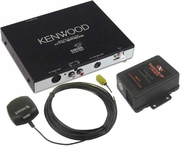 GM Kenwood SIRIUS Tuner Package