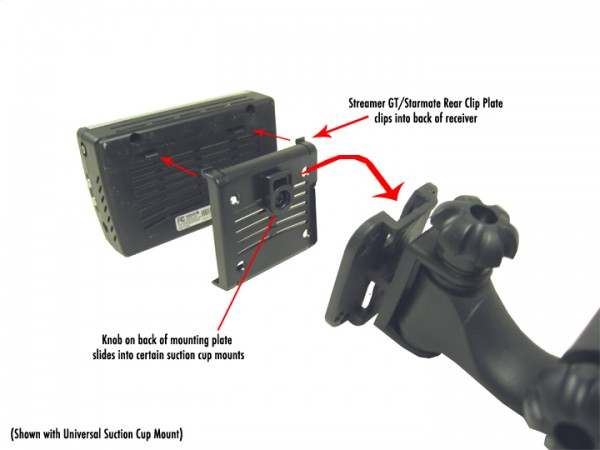 Streamer GT/Starmate Rear Clip Plate Connections Rear