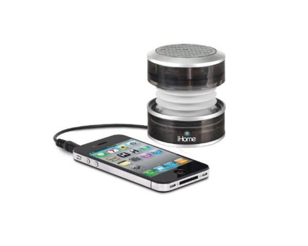 iHM60iHome Rechargable Mini Speaker iHM60GT With iPod