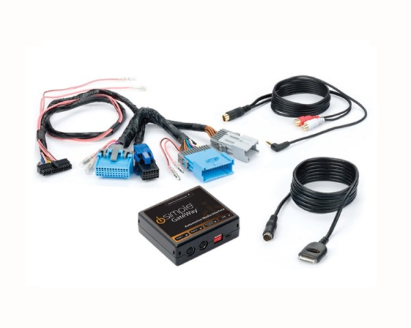 iSimple Factory IPod & XM Integration For GM Vehicles (GM5)