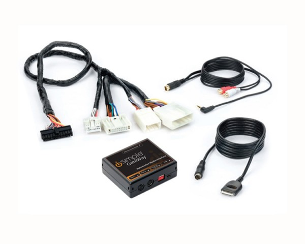 iSimple Factory iPod Integration For Nissan & Infiniti Vehicles (NI2) ISNI572 Package Contents