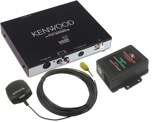 Jaguar Kenwood Sirius Tuner Package