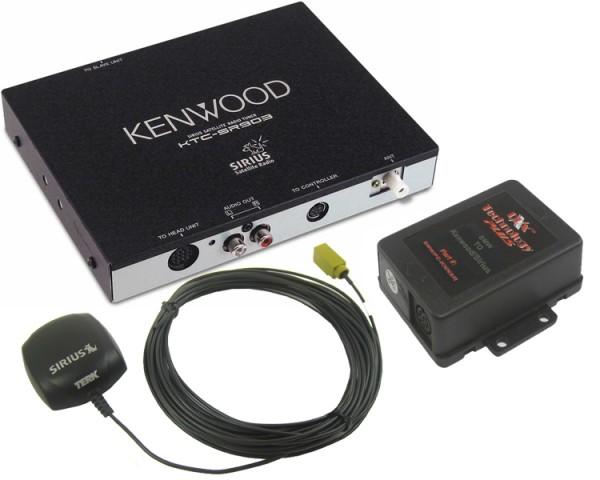 BMW Kenwood Sirius Tuner Package