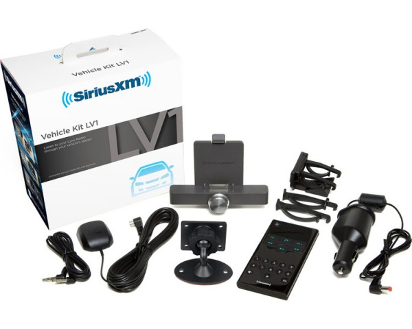 SiriusXM Lynx PowerConnect Vehicle Kit SXiV1 Kit Contents