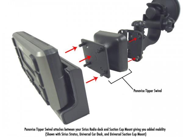 Panavise Tipper Swivel 685-PM Installation Diagram