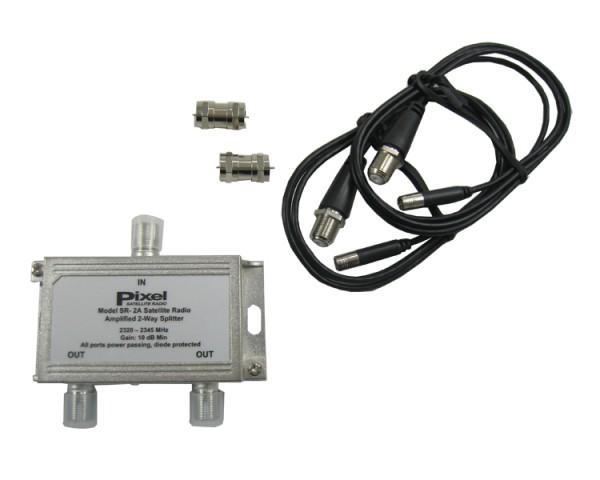 2-Way Amplified Splitter SR-2A Image
