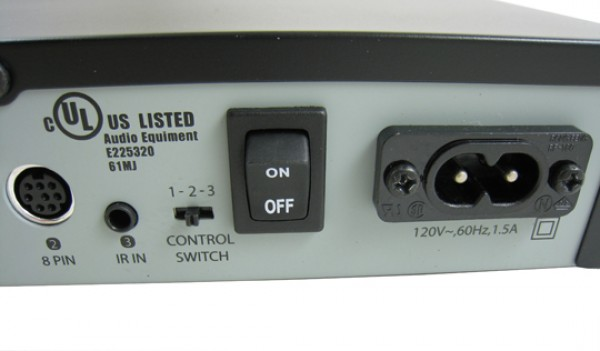 SIRIUS Connect Home Tuner For Professional Installation SCH2P Back Right