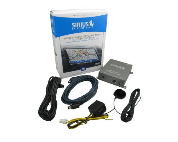 SIRIUSConnect Satellite Radio Plus Traffic Tuner Contents