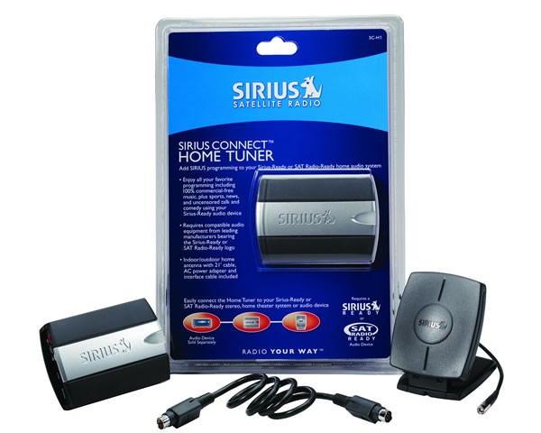 SIRIUS Connect Home Tuner SCH1 Contents