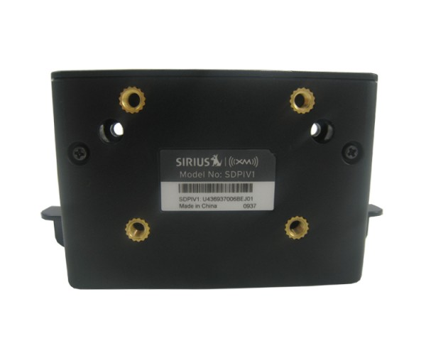 SIRIUS PowerConnect Vehicle Dock SDPIV1 Back