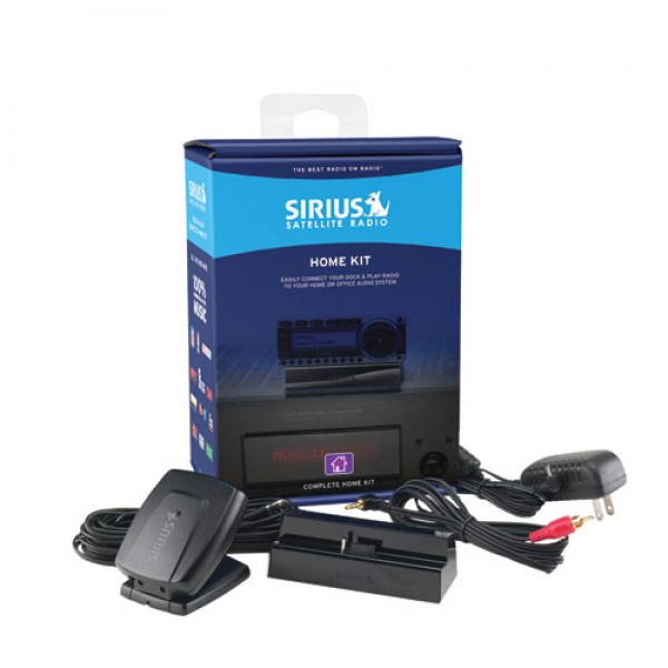 Sirius Dock and Play Home Kit SUPH1 Contents