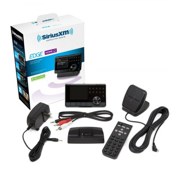 SiriusXM Edge with Home Kit SX1EH1 Contents Image