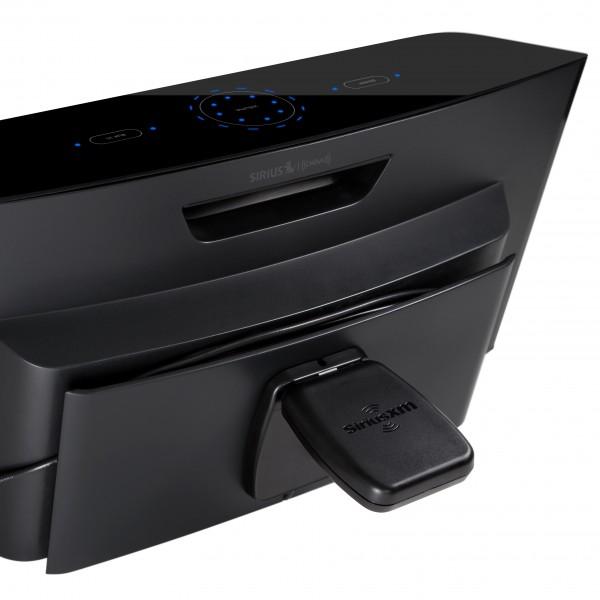 SiriusXM Portable Boombox Sound System SXABB2 Back Image