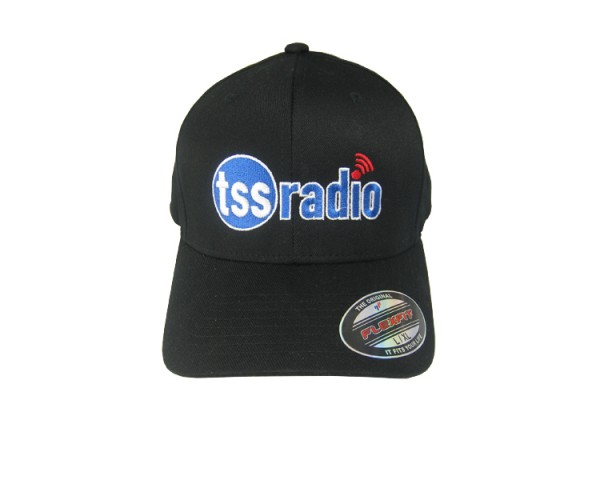Black TSS Radio Logo Hat Front