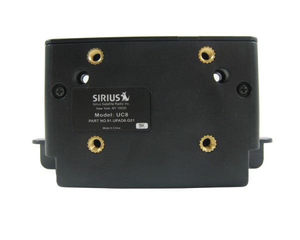 SIRIUS Car Dock UC8 Back
