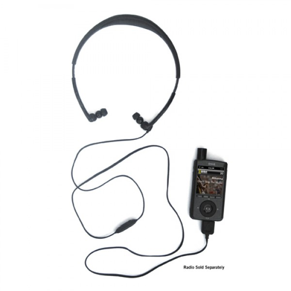 XMP3/XMP3i Antenna Headphones XMP3HP Attached