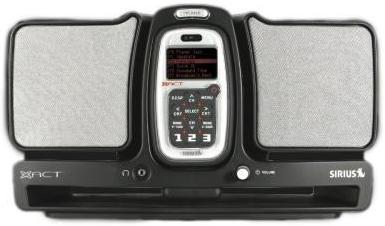 SIRIUS Xact XS024 Boombox