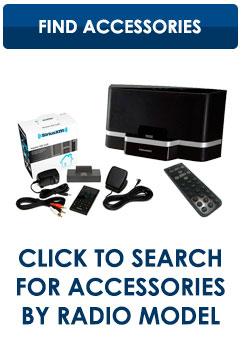 Sirius XM Accessory Finder
