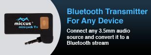 Miccus Bluetooth Transmitter