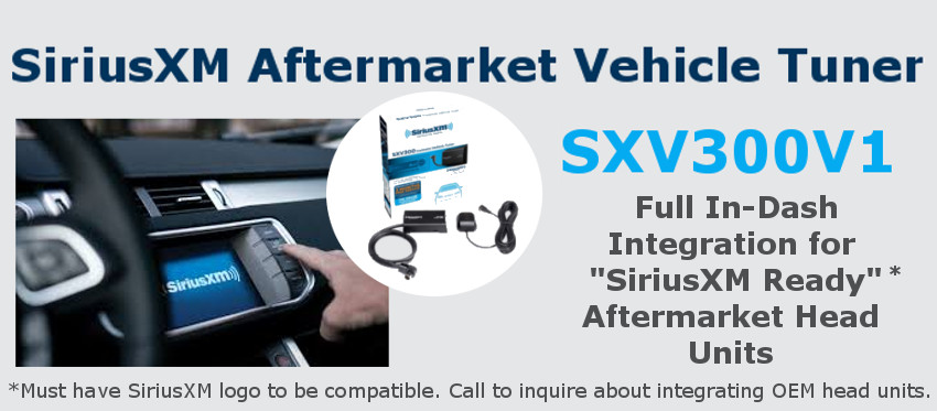 SiriusXM SXV300V1 Aftermarket Vehicle Tuner