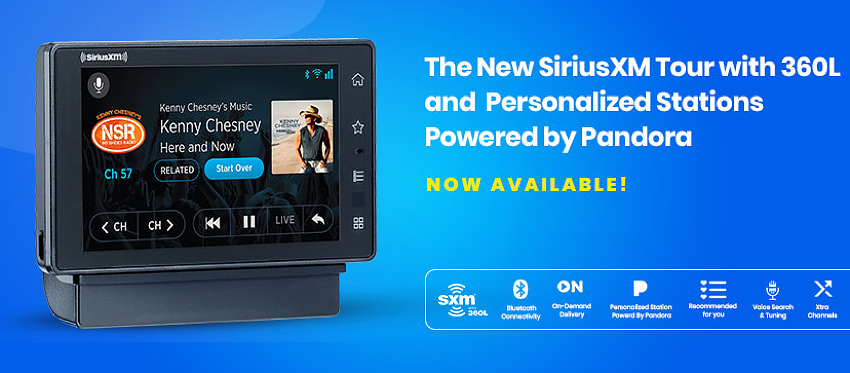 New SiriusXM Tour, The Best SiriusXM Radio Ever!