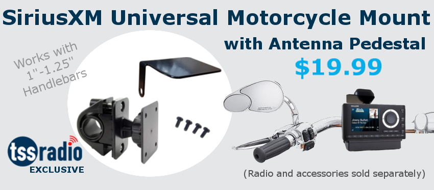 Universal Motorcycle Mount and Antenna Pedestal