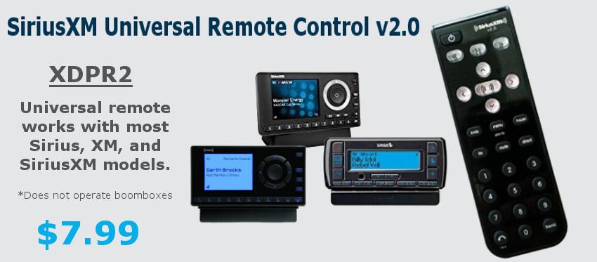 SiriusXM Universal Remote 2.0