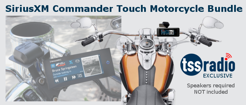 Commander Touch Motorcycle/UTV Bundle
