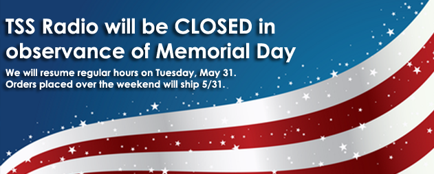 Closed Memorial Day 2016