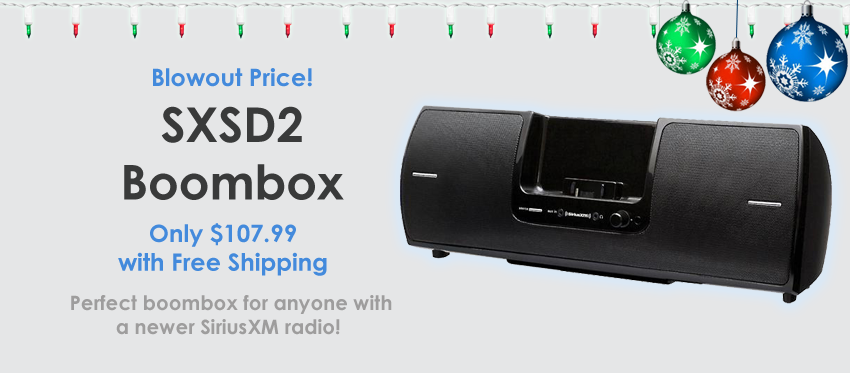SXSD2 - Blowout Price on a Brand New Boombox!