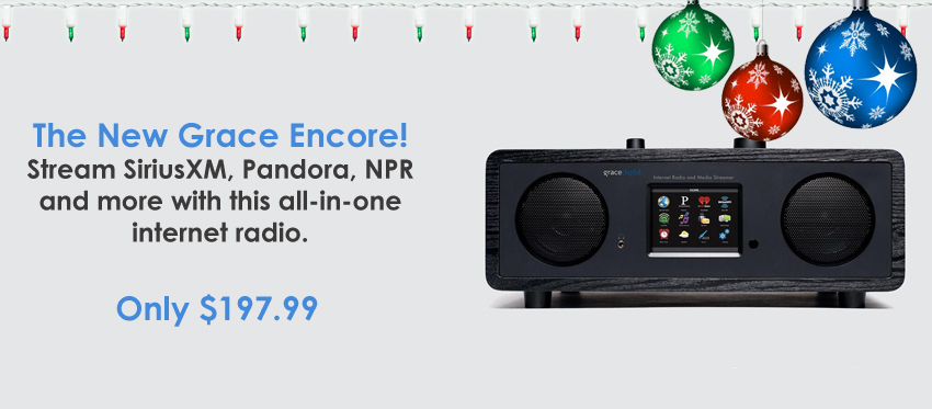 Grace Digital Encore Internet Radio