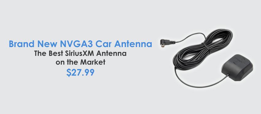 New - NGVA3 Universal Car Antenna