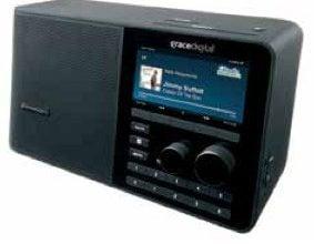 SiriusXM Sound Station TTR2 Wi-Fi Radio | Desktop Radio with Power