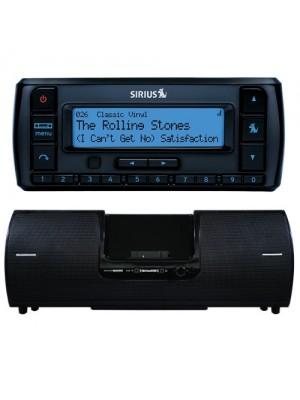 Stratus 5 (SV5C) Standalone Radio & Refurb SXSD2 Boombox Bundle