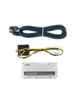 Alpine SIRIUS Connect Interface KCA-SC100 Package Contents