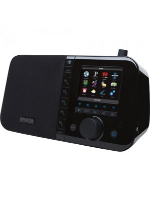 Grace Digital Mondo Wireless Music Player and Internet Radio (Black) GDI-IRC6000