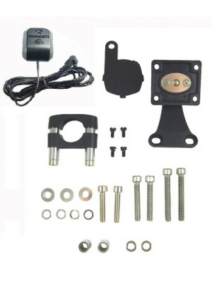 "Motorcycle Mount and 8"" Antenna Bundle"