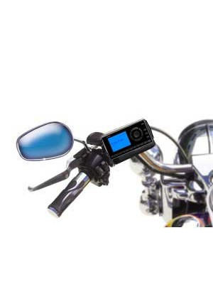 Professional Motorcycle Install Kit with XM Radio