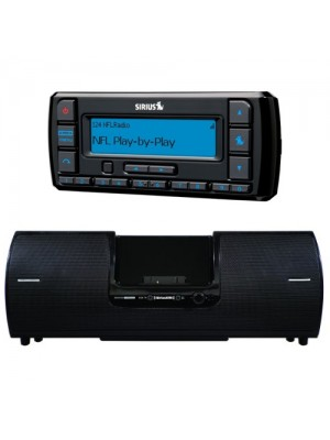 Stratus 7 Standalone Radio and Refurb SXSD2 Boombox Bundle