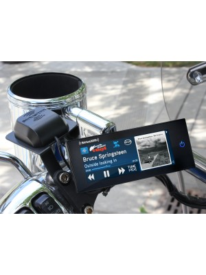 SiriusXM Commander Touch & Motorcycle Mount Kit/Rain Cover Bundle