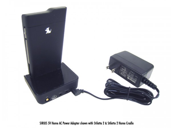 5 Volt Home AC Power Adapter for SIRIUS & XM with SL2
