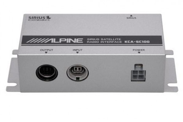 Alpine SIRIUS Connect Interface KCA-SC100 Image