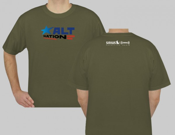 SiriusXM Alt Nation Logo T-Shirt