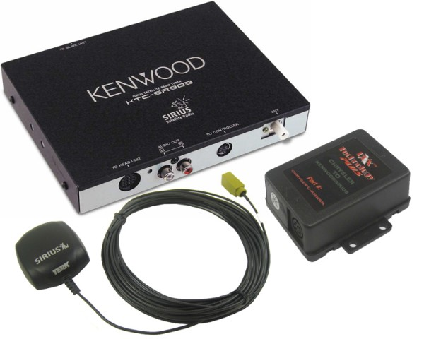 Chrysler/Dodge/Jeep Kenwood Sirius Tuner Package 2
