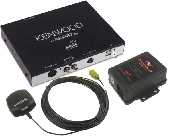 Chrysler/Dodge/Jeep Kenwood Sirius Tuner Package 1